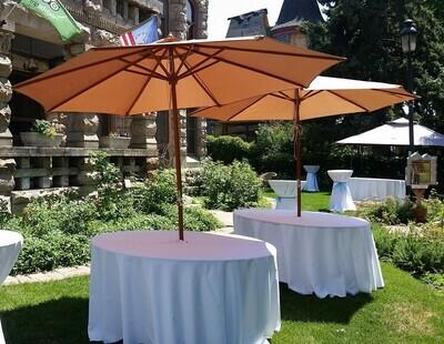 Umbrella 5ft Round Table Kit