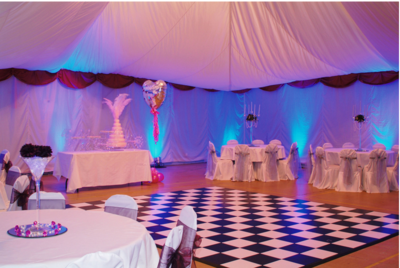 Black and/or White Dance floor (contact for pricing)