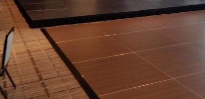 Dance Floor Outdoor/indoor use 4 foot x 4 foot sections