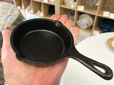Cast Iron Fry Pan 3.5 in