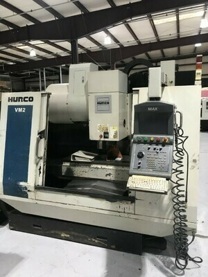 1 - USED HURCO VM2 WITH ULTIMAX 4 VERTICAL MACHINING CENTER