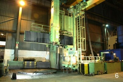 """1 – USED 296""""/157"""" SCHIESS FRORIEP CNC VERTICAL BORING MILL"""
