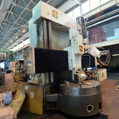 """1 - USED 100"""" GRAY DOUBLE COLUMN CNC VERTICAL BORING MILL"""
