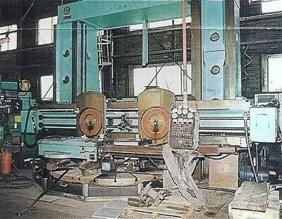"""1 – USED 138/120"""" SKODA MANUAL/CNC VERTICAL BORING MILL"""