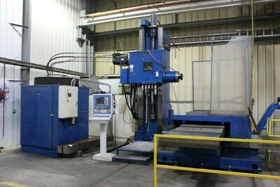 "1 - USED 5"" LUCAS CNC HORIZONTAL FACING MILL"