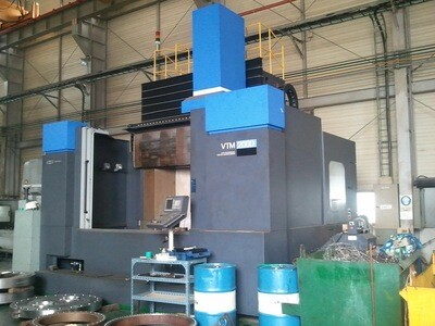 """1 - USED 105"""" WHACHEON CNC VERTICAL BORING MILL WITH LIVE SPINDLE (2011)"""