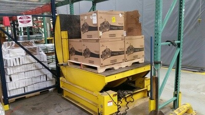 1 – USED 10,000 LB. BUSHMAN MECHANICAL COIL UPENDER