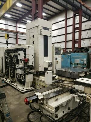1 - USED DOOSAN ACE H-100 CNC HORIZONTAL MACHINING CENTER