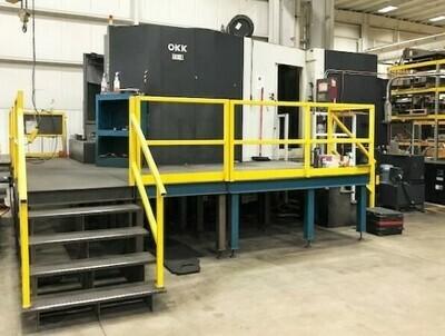 1 - USED OKK MODEL HM-1250S CNC HORIZONTAL MACHINING CENTER