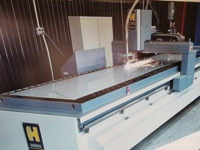 1 – USED HACO 3015 HYPERTHERM 130 AMP 5' X 10' CNC PLASMA