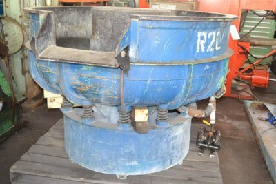 1 – USED 11.4 CU.FT. ROSLER VIBRATORY DEBURRING MACHINE