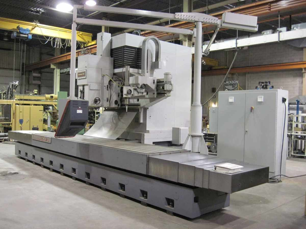 "1 – NEW 96"" X 48"" ROCHESTER CNC VERTICAL MILL/DUPLICATOR/DIGITIZER WITH GETTY DC SERVOS AND COPY HEAD"