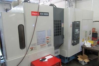 1 – USED MAZAK FH-4800 CNC HORIZONTAL MACHINING CENTER