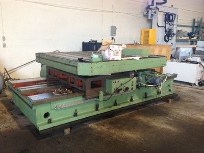 1 - USED TOS ISO 16 ROTARY TABLE WITH 2-AXIS DRO