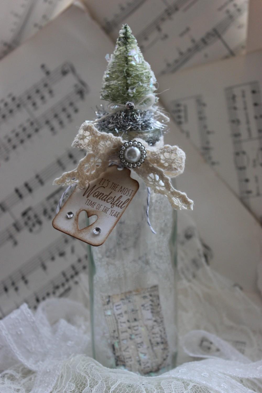 Christmas Wish Bottle - large