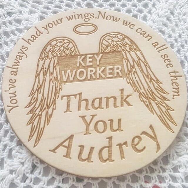 Key Worker Coaster
