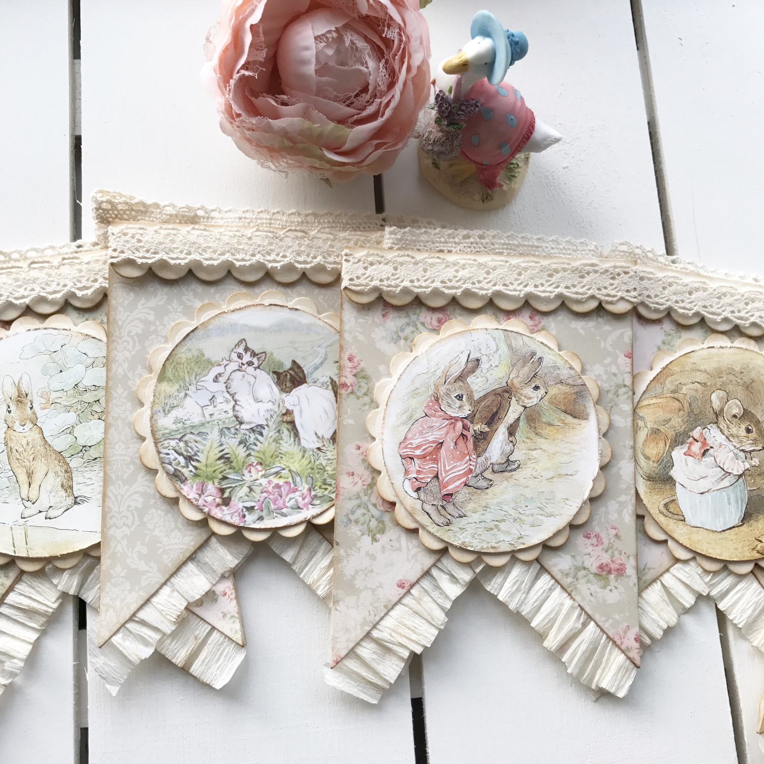 Beatrix Potter Collection ~ Luxury Bunting