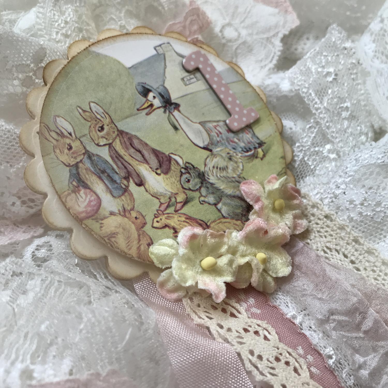 Beatrix Potter Collection ~ Rosette Badge