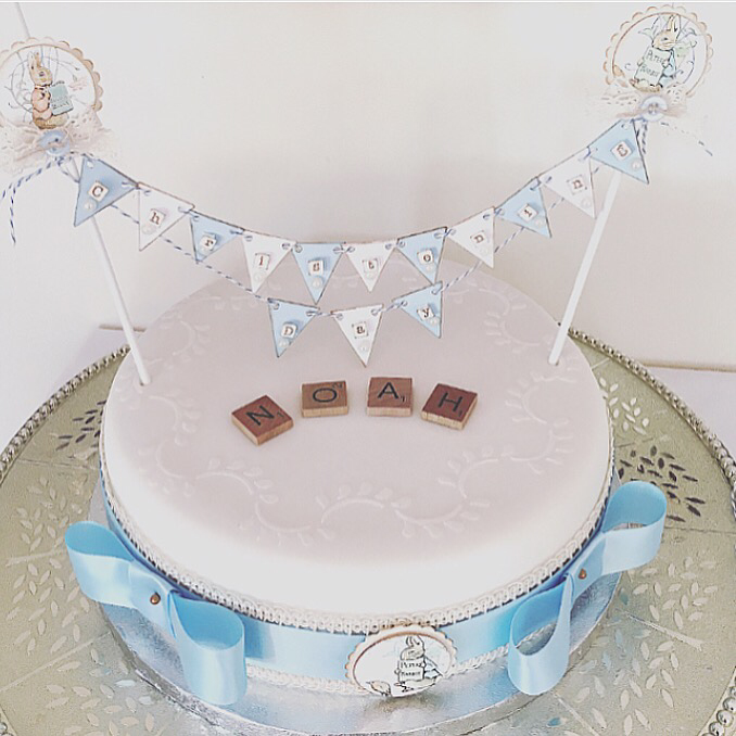 Beatrix Potter Collection ~ Cake Bunting