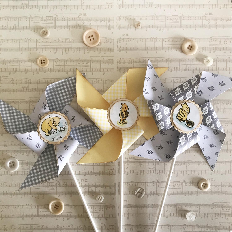 Pooh Bear Collection ~ Pinwheel