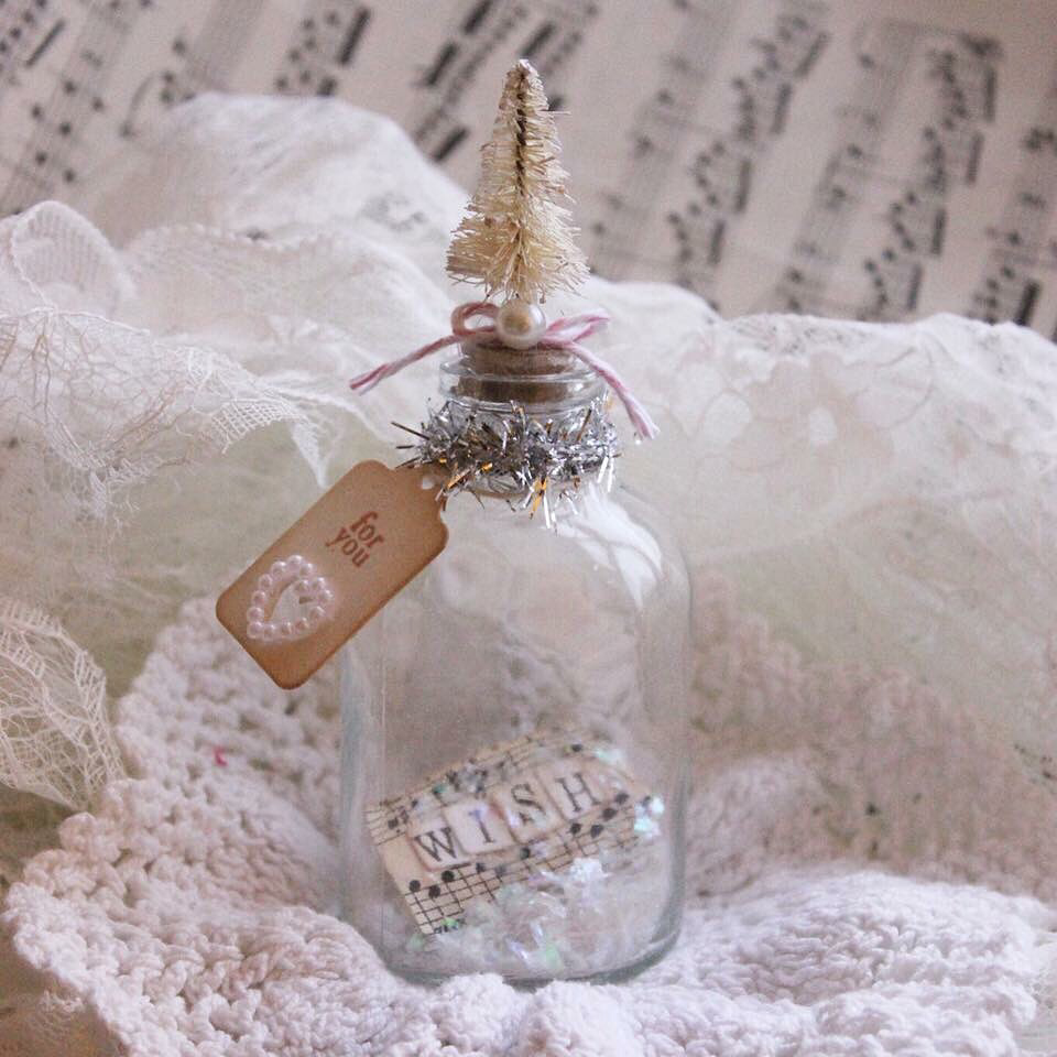Christmas Mini Wish Bottle