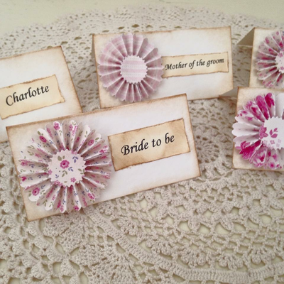 Hen Party Place Cards