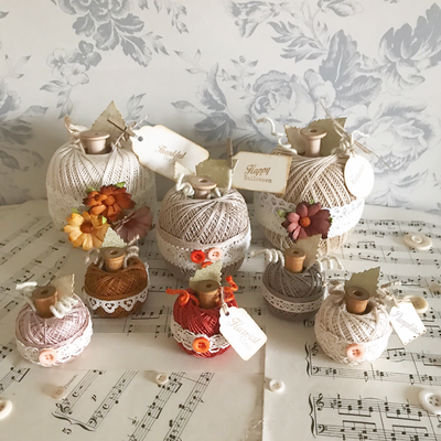 Autumn Collection ~ Medium Rustic Pumpkin