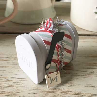 Mini Mailbox Christmas Decorations