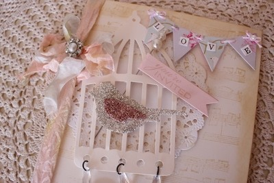 Couture Collection - Beautiful Birdcage Wedding Invitations