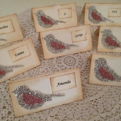 Beautiful Birdcage Couture Collection ~ Placecards