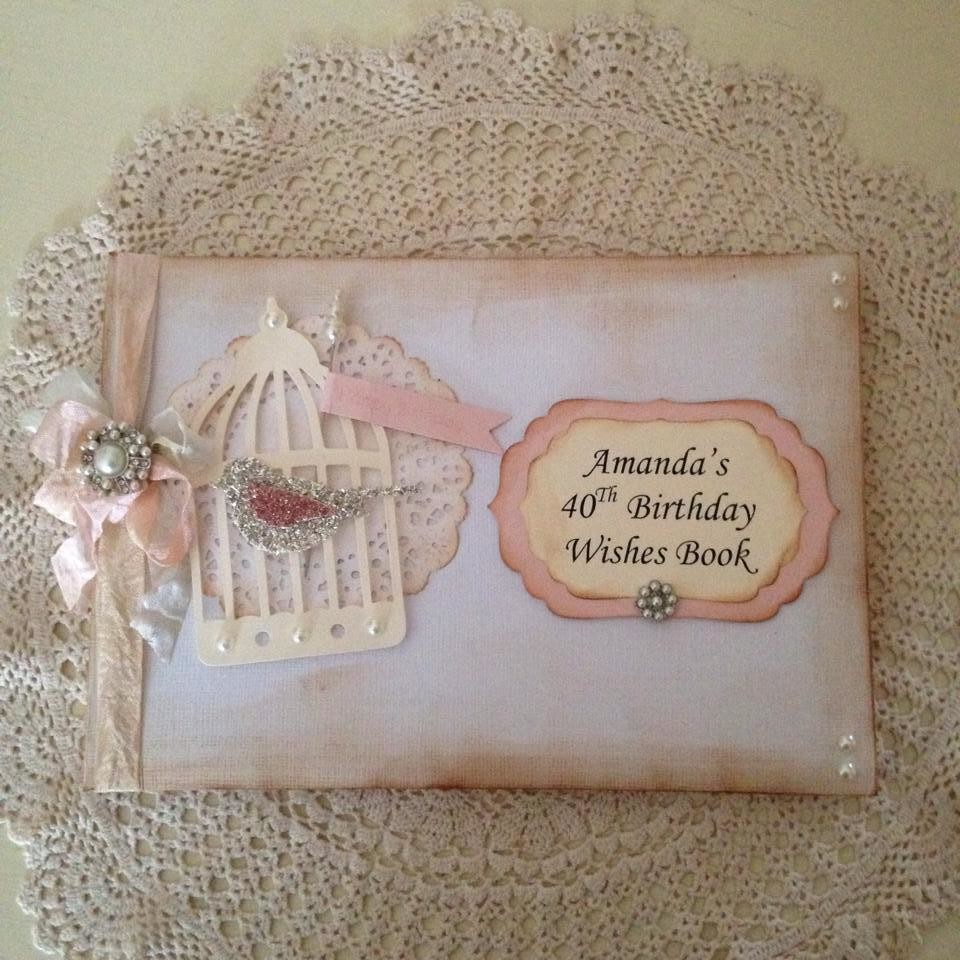 Couture Collection ~ Beautiful Birdcage Guestbook