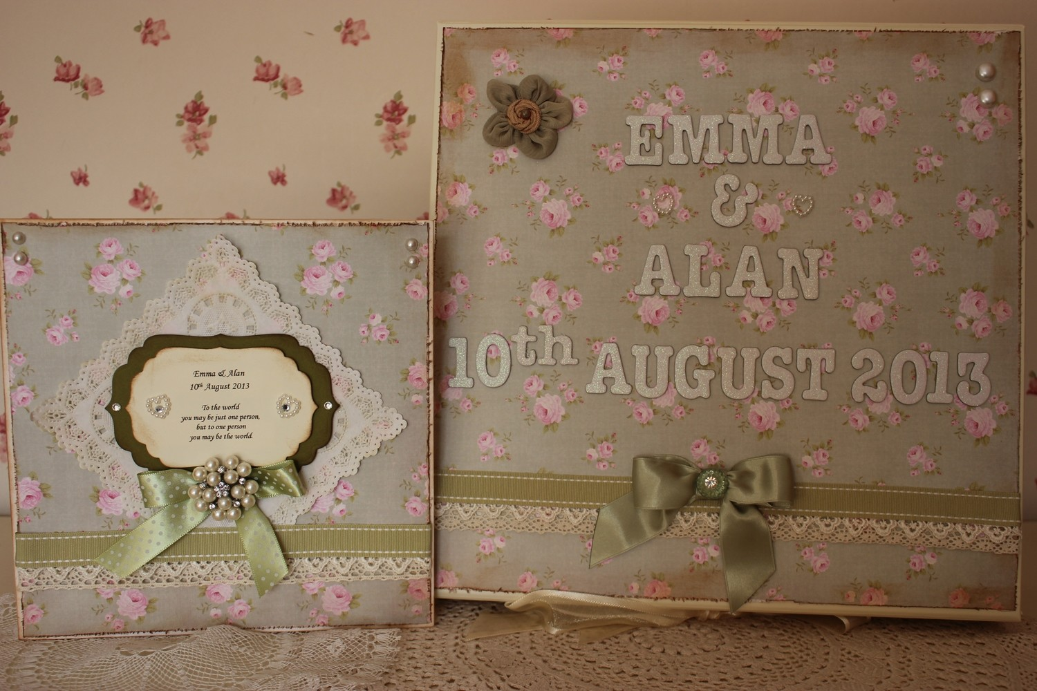 Large Keepsake box - personalised