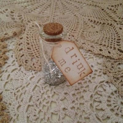 Alice in Wonderland Mini 'drink me' Bottle