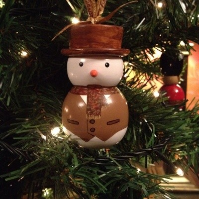 Traditional Snowman Christmas Tree Decorations