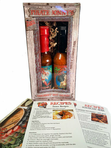 Pirate Jonny's Hot Saucey Combo Pack