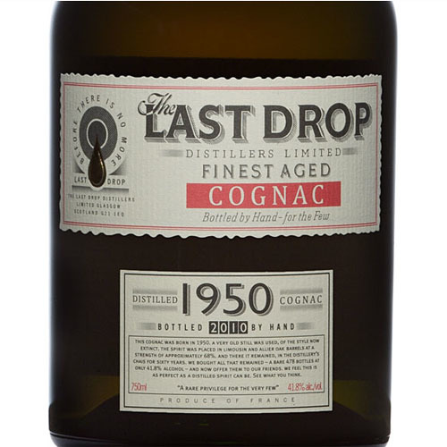 The Last Drop 1950 Vintage Cognac