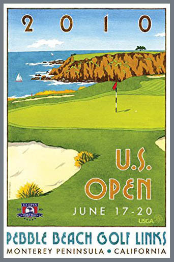 US Open Pebble Beach 2010