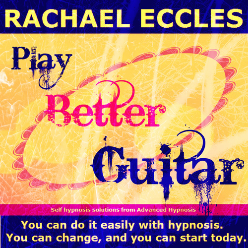 Play Better Guitar Self Hypnosis Hypnotherapy 2 track CD