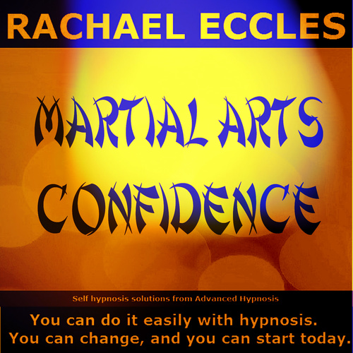 Martial Arts Confidence, Self Hypnosis 2 track Hypnotherapy CD
