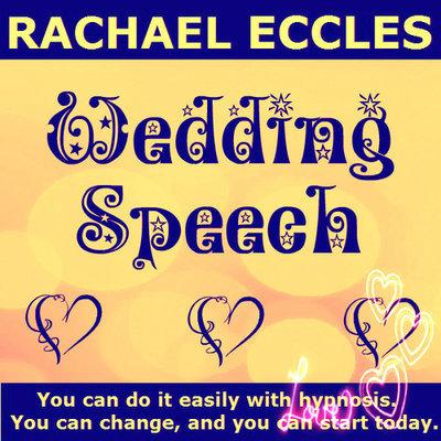 Wedding Speech Confidence 2 trck Hypnotherapy Self Hypnosis CD