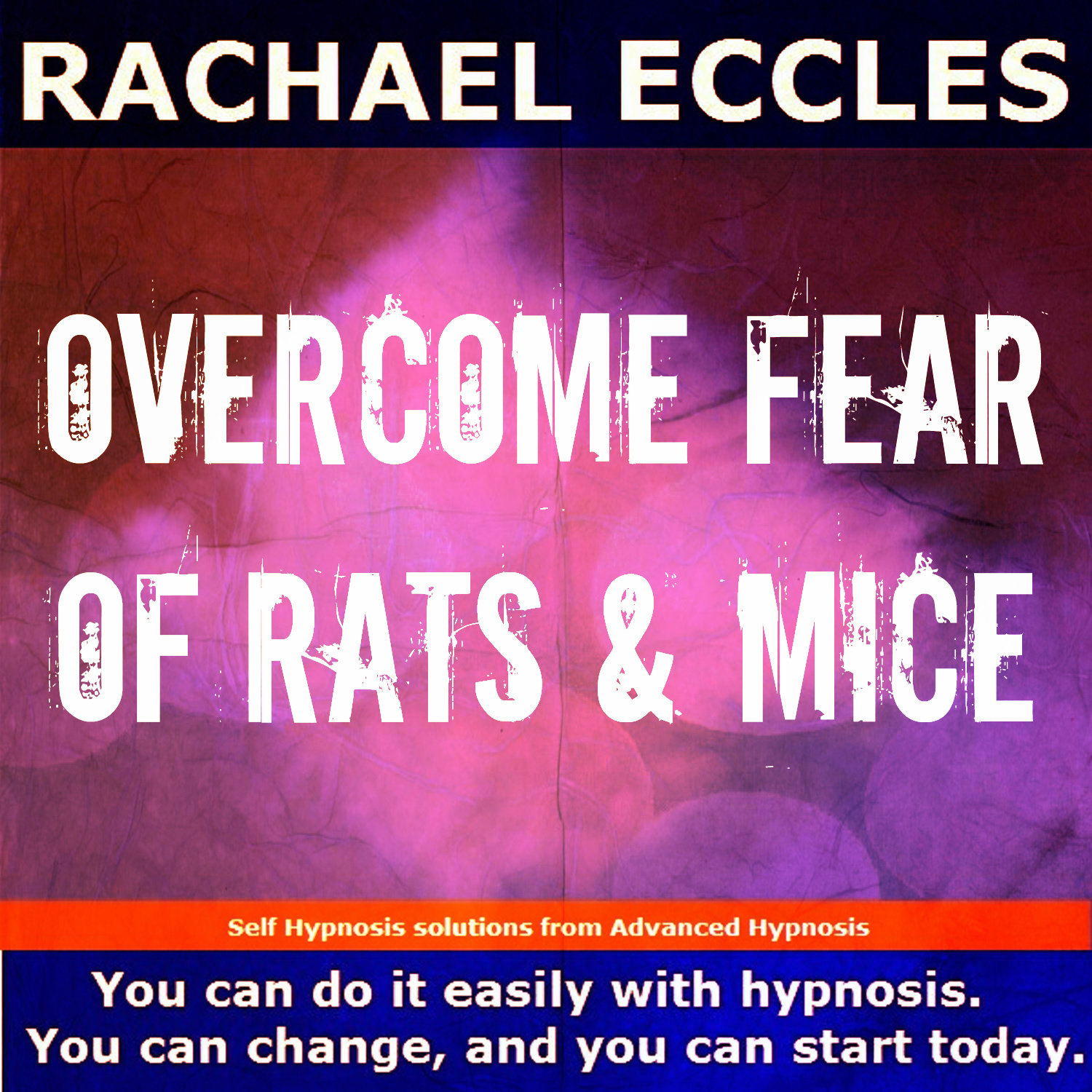 Overcome Fear of Rats & Mice Hypnosis Hypnotherapy CD