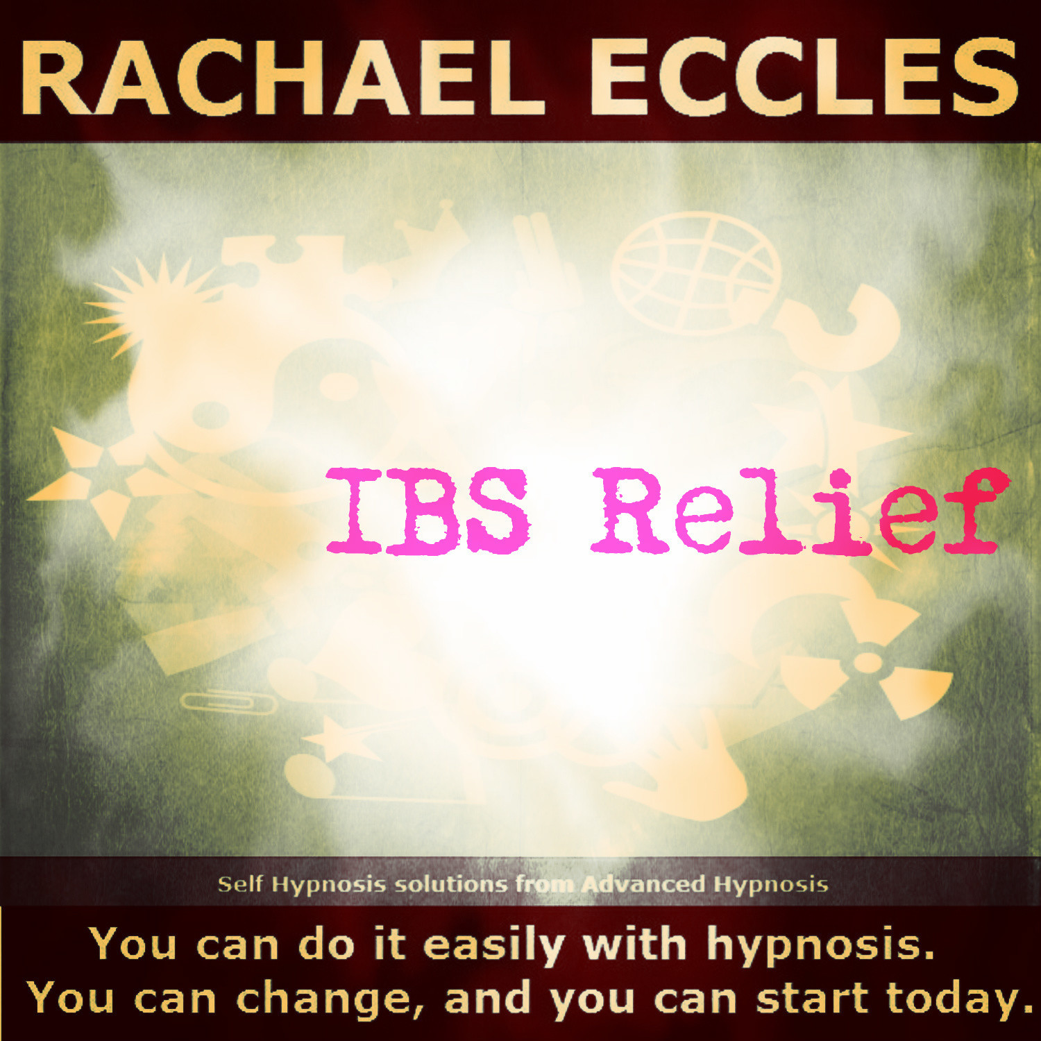 IBS Hypnosis (Relieve Irritable Bowel Syndrome) IBS Relief hypnotherapy 3 track self hypnosis CD