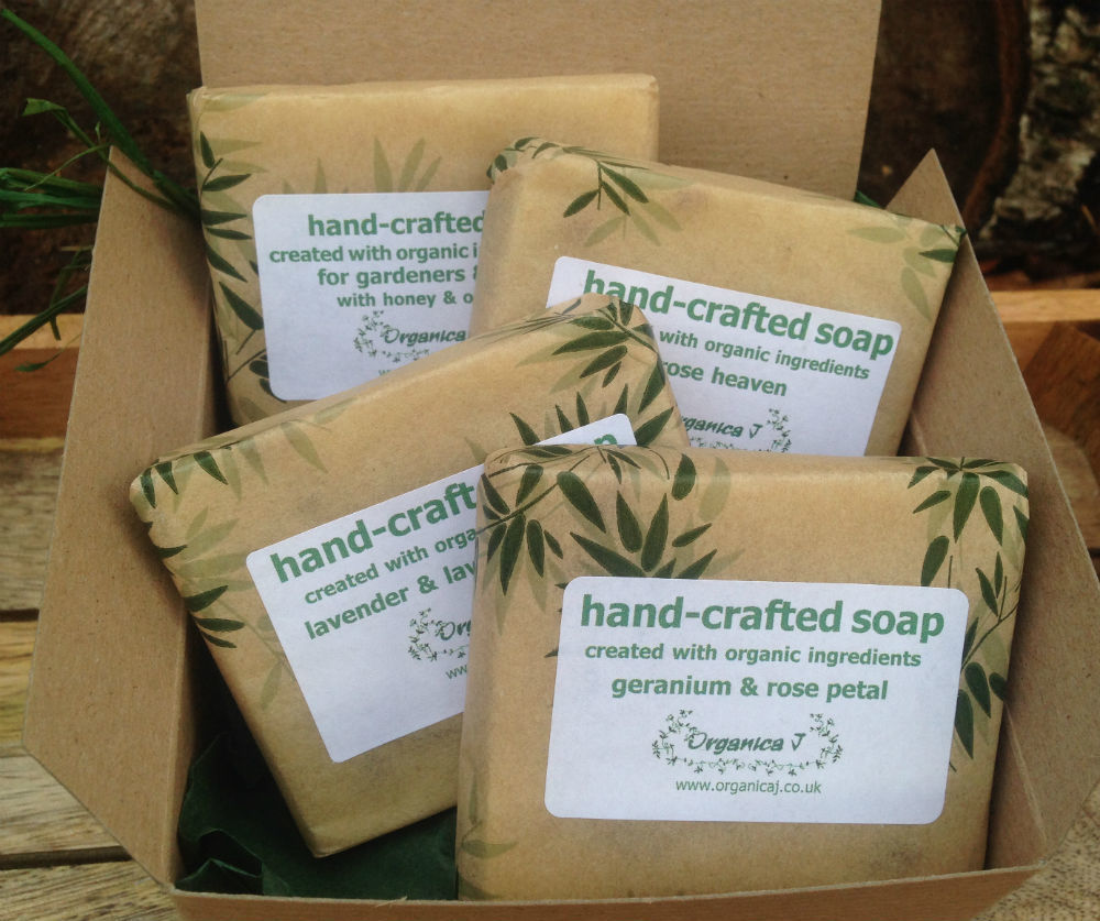 Organic Soap Gift Box - Two