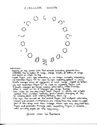 Circular Song Score