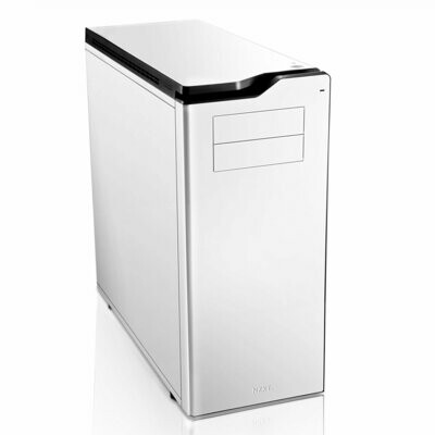 NZXT H630 Glossy White Ultra Tower Silent Gaming Chassis