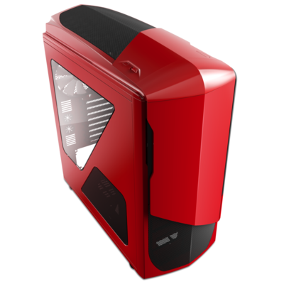 NZXT Phantom Red ATX Gaming Mid-Tower Case