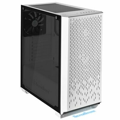 SilverStone Primera 02 White Full Tower Case Tempered Glass Window