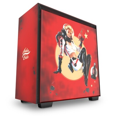 NZXT H700 Nuka-Cola CRFT Limited Edition Mid-Tower Case - Only 2000 Units in the World.