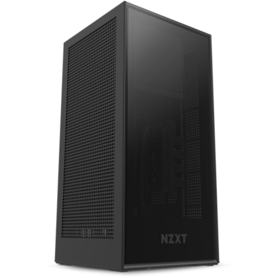 PRE-ORDER NZXT H1 Mini ITX TG Case with 650W SFX-L 80Plus Gold Fully Modular PSU, 140mm AIO Liquid Cooler, and PCIe 16x Gen3 High-Speed Riser Card