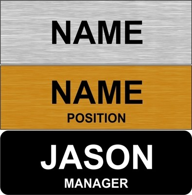 Budget - Name Badges from $3.00